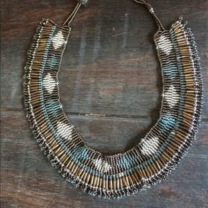 Jewelry - Seed beed tribal choker